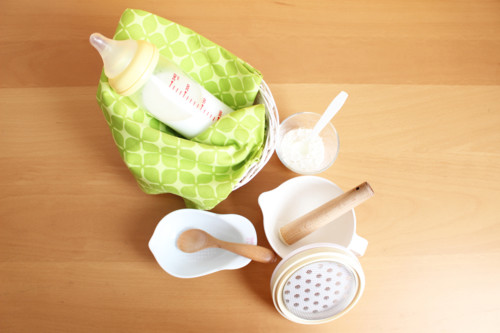 離乳食 ミルク