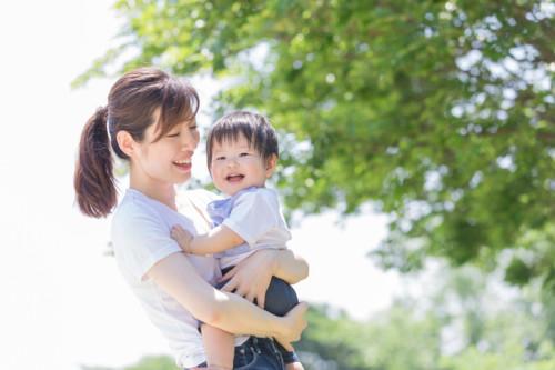 ママ 1歳 赤ちゃん 春