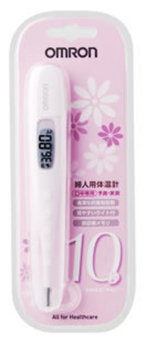 オムロン 婦人用電子体温計 口中専用 ピンク MC-683L-PK 婦人体温計 基礎体温計 ツルハドラッグ