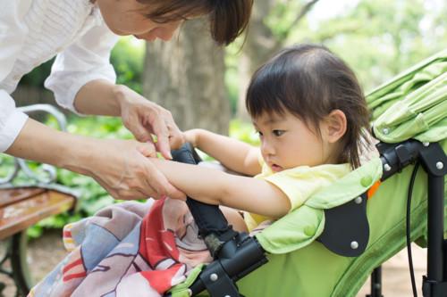 蚊に刺される 子供