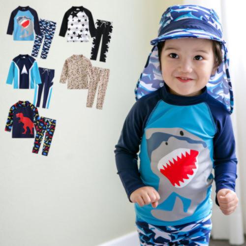[Vaenait Baby] 男の子キッズラッシュガード