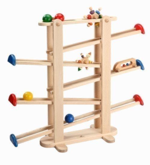 プレジャーガーデン 「木のおもちゃ スロープ 」
