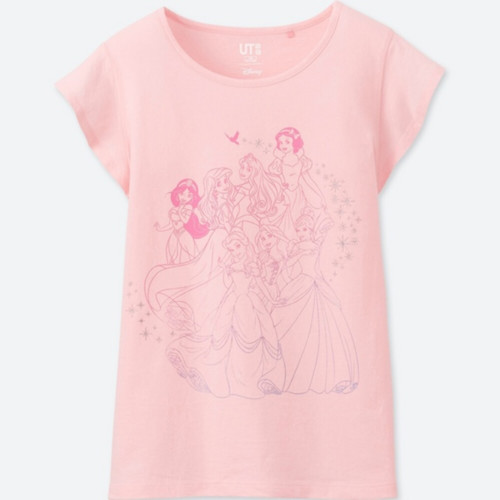 GIRLS サウンズ・オブ・ディズニーグラフィックT(半袖)