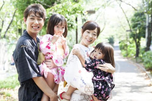 夏 家族 日本