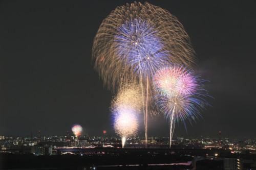 板橋 花火