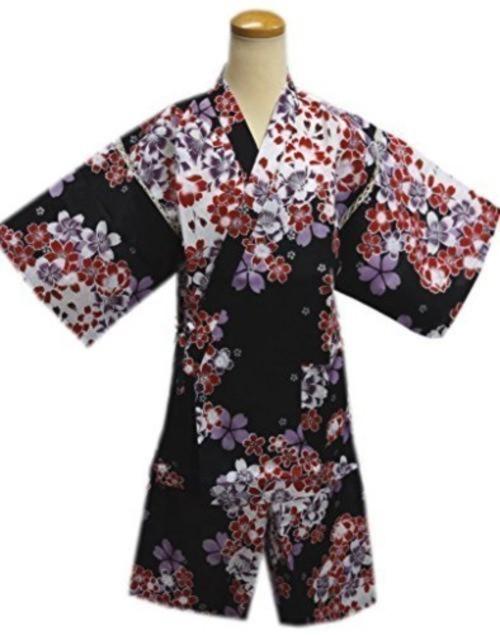 女性用甚平・赤紫桜