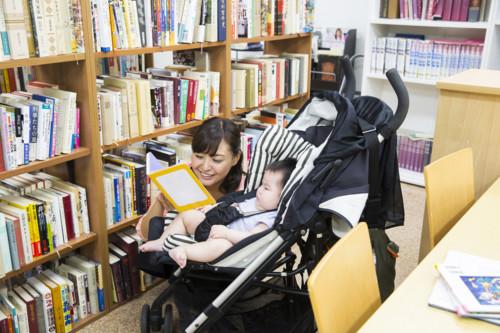 図書館 子供