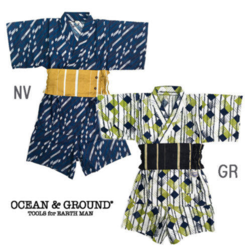 Ocean&Ground(オーシャン&グラウンド)「BOY'S浴衣セットアップ」