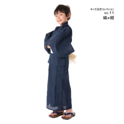KYOETSU(キョウエツ)「ボーイズ浴衣3点セット 」