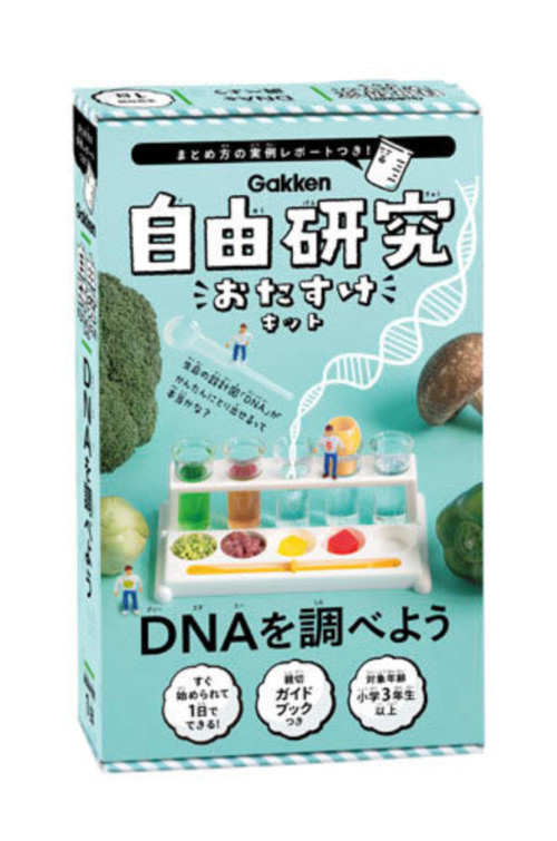 DNAを調べよう(自由研究おたすけキット)