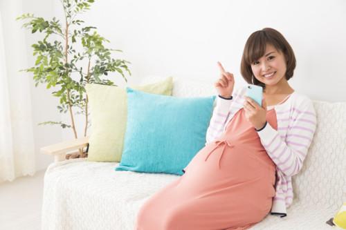 妊婦 笑顔