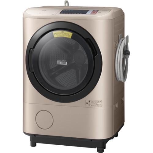 日立 HITACHI BD-NX120AL N [ビッグドラム ドラム式洗濯乾燥機(12.0kg) 左開き シャンパン]
