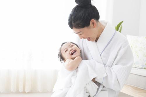 ママ 1歳 お風呂