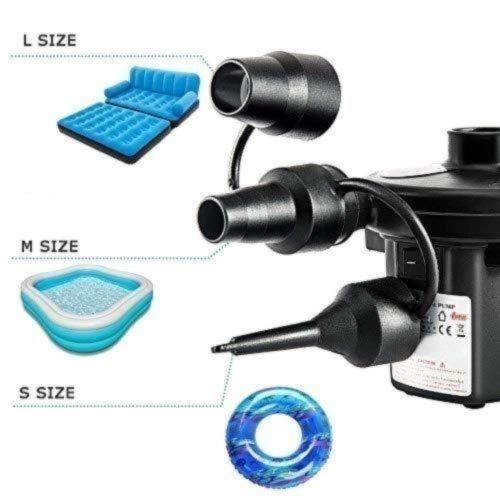 空気入れ・抜き両対応 電動エアーポンプ