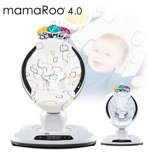 mamaroo4.0 ママルー4.0 プラッシュ 電動バウンサー