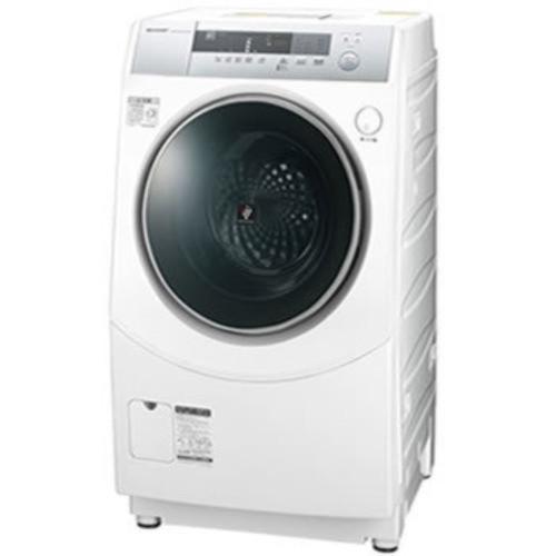 シャープ10kg ドラム式洗濯乾燥機