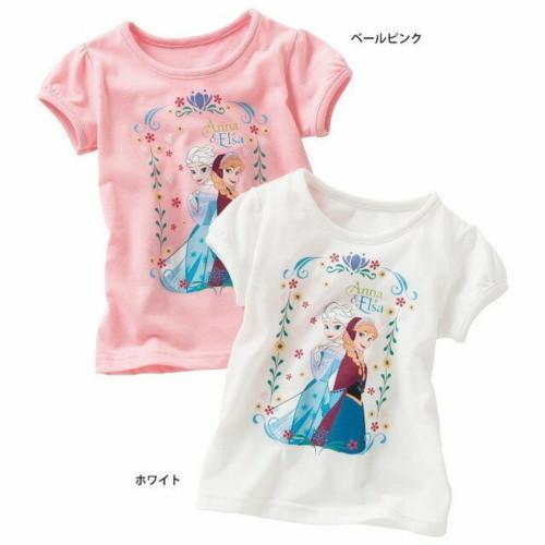 Disney(ディズニー)アナと雪の女王・パフスリーブTシャツ