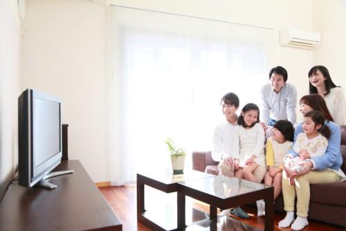 テレビ リビング 三世代
