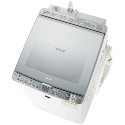 ES-PX8B-S シルバー系 洗濯乾燥機 穴なし槽 洗濯8kg 乾燥4.5kg