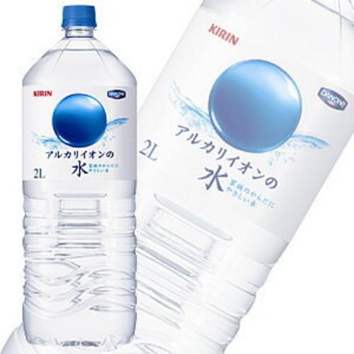キリン アルカリイオンの水 PET 2L×6本入 軟水