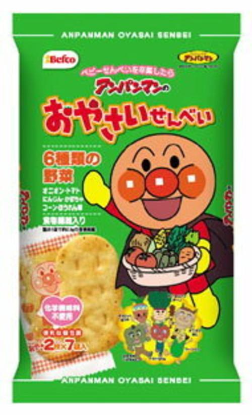アンパンマンのおやさいせんべい (2枚×7袋)×12袋 米菓子  02P03Dec16