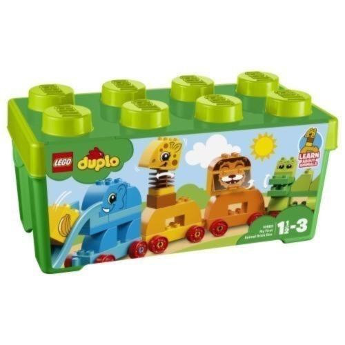 LEGO デュプロ みどりのコンテナデラックス どうぶつでんしゃ