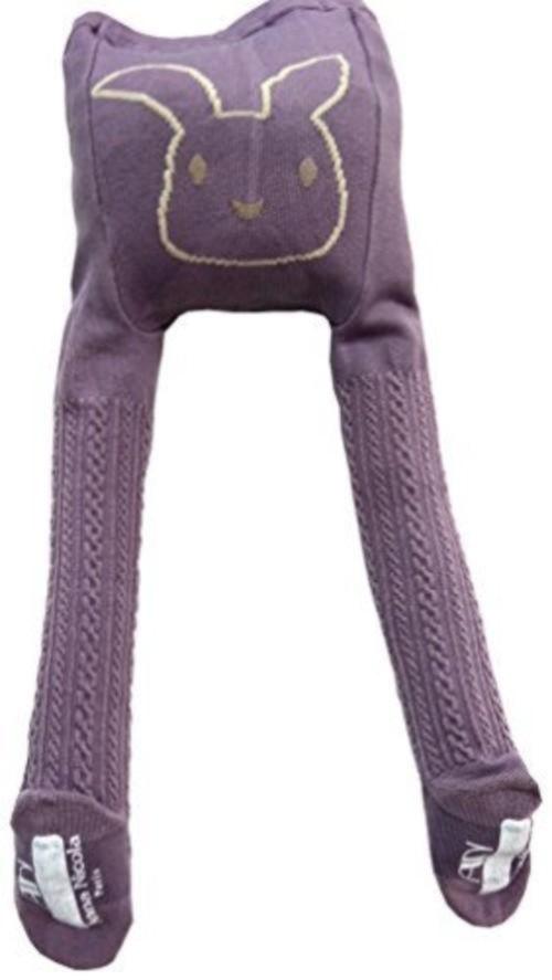 お尻うさぎフロート編みタイツ