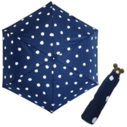 くまのがっこう耐風折りたたみ傘