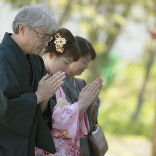 参拝 神社