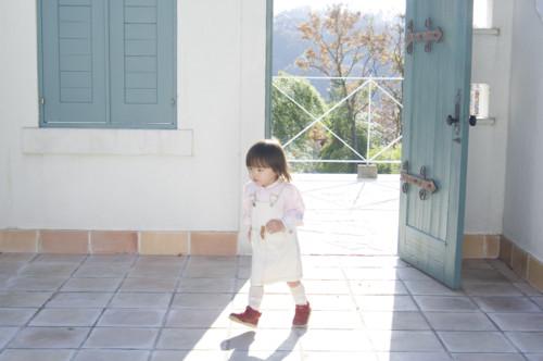 玄関 子供