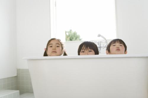 お風呂 3人