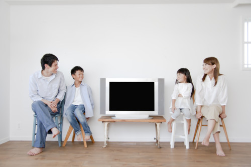 テレビ 家族