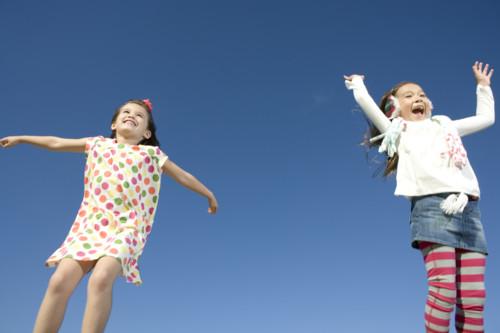 子供 ジャンプ